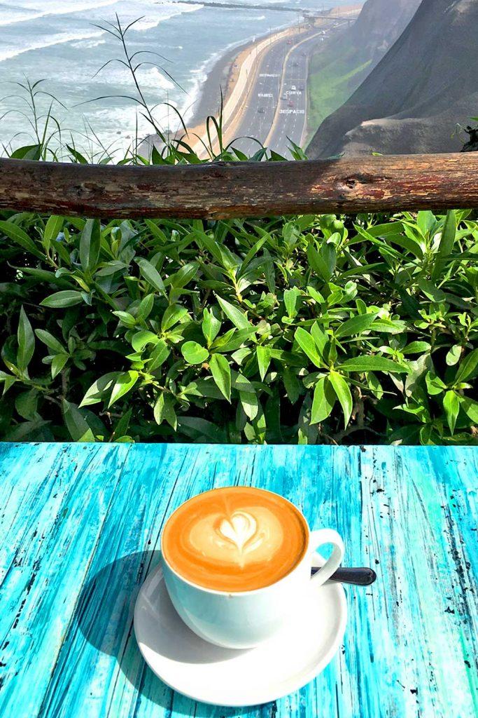 Coffee, Lima, Peru