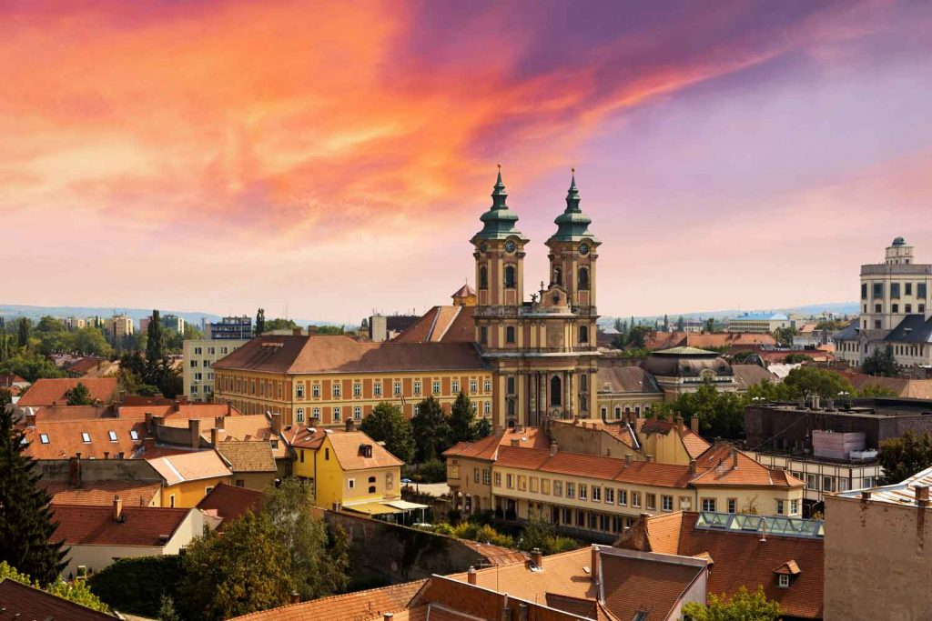 Hungarian City: Eger