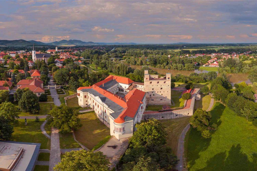 Hungarian town: Sárospatak
