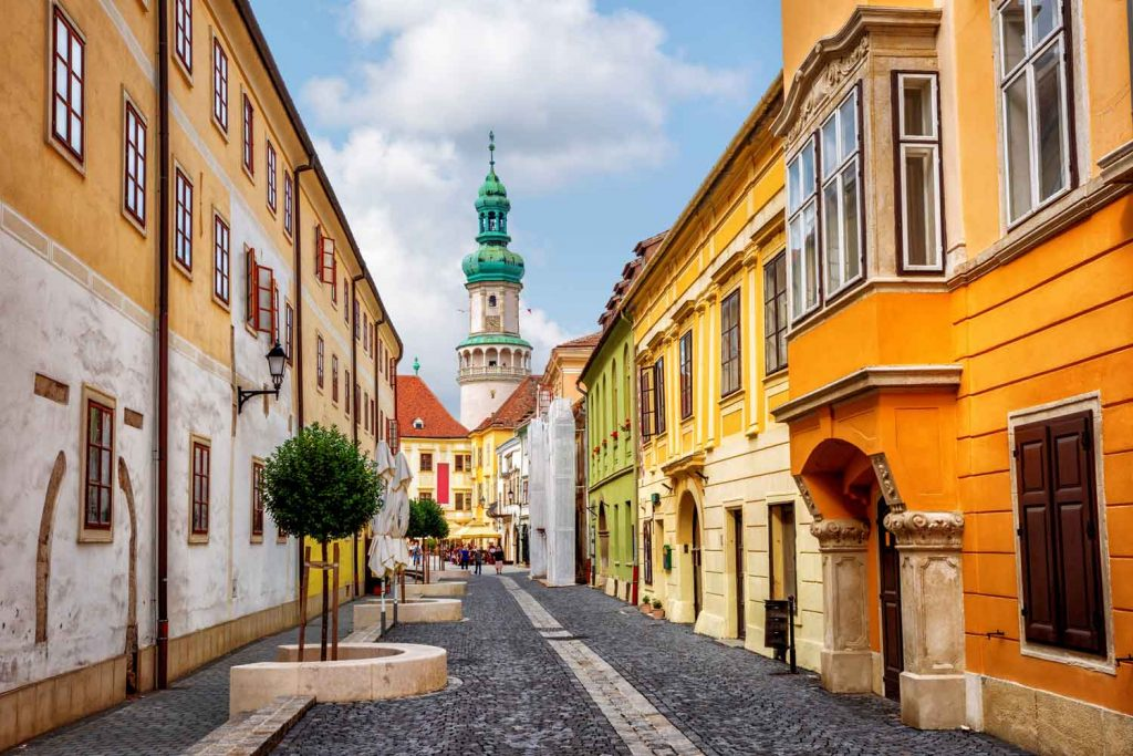 Hungarian city: Sopron