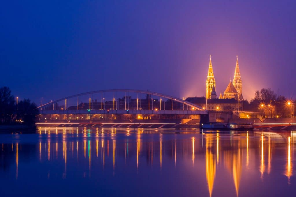 Third largest city in Hungary - Szeged