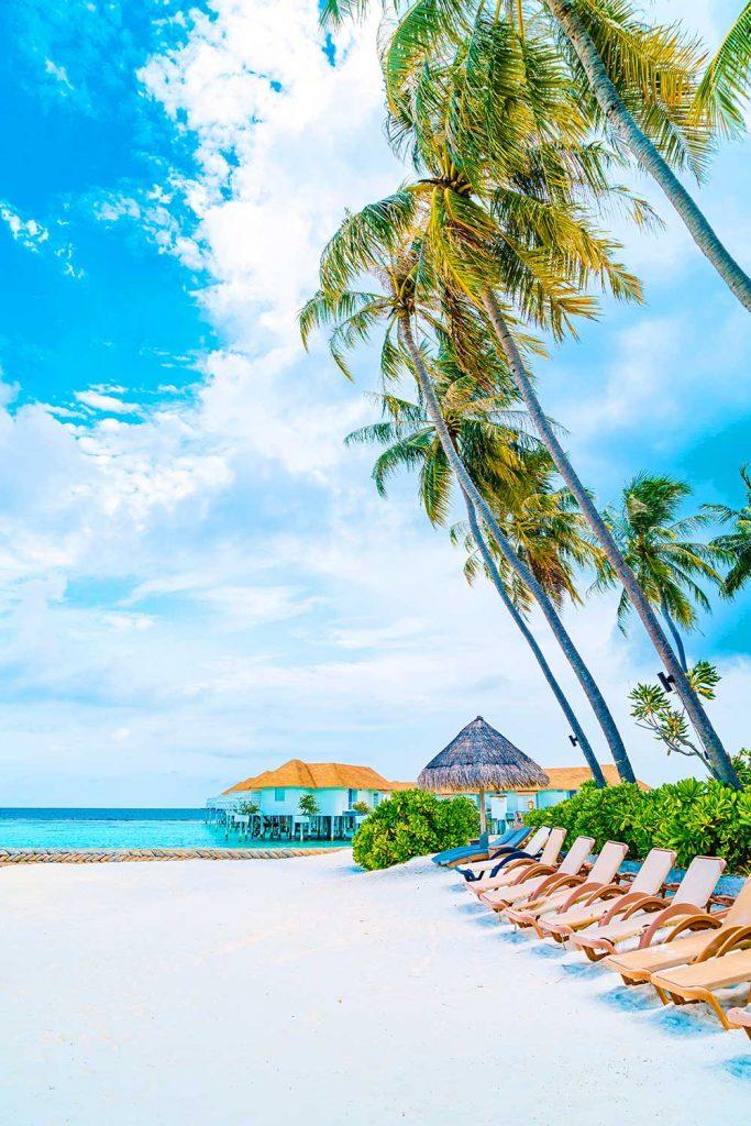 Paradise islands: Maldives