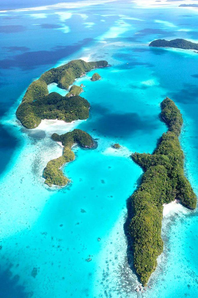 Paradise island: Palau, Philippines