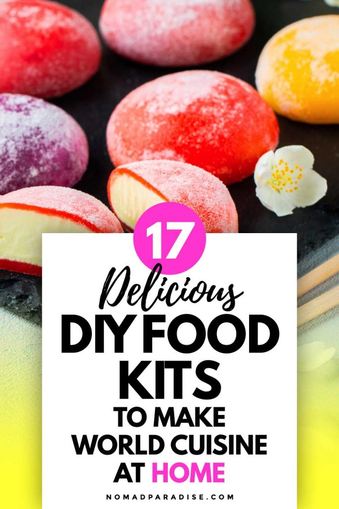 17 Delicious DIY Food Kits To Make World Cuisine at Home