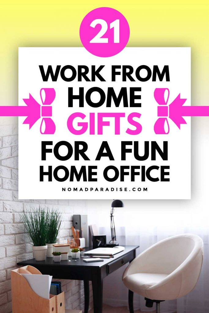 21 Work From Home Gifts for a Fun Home Office