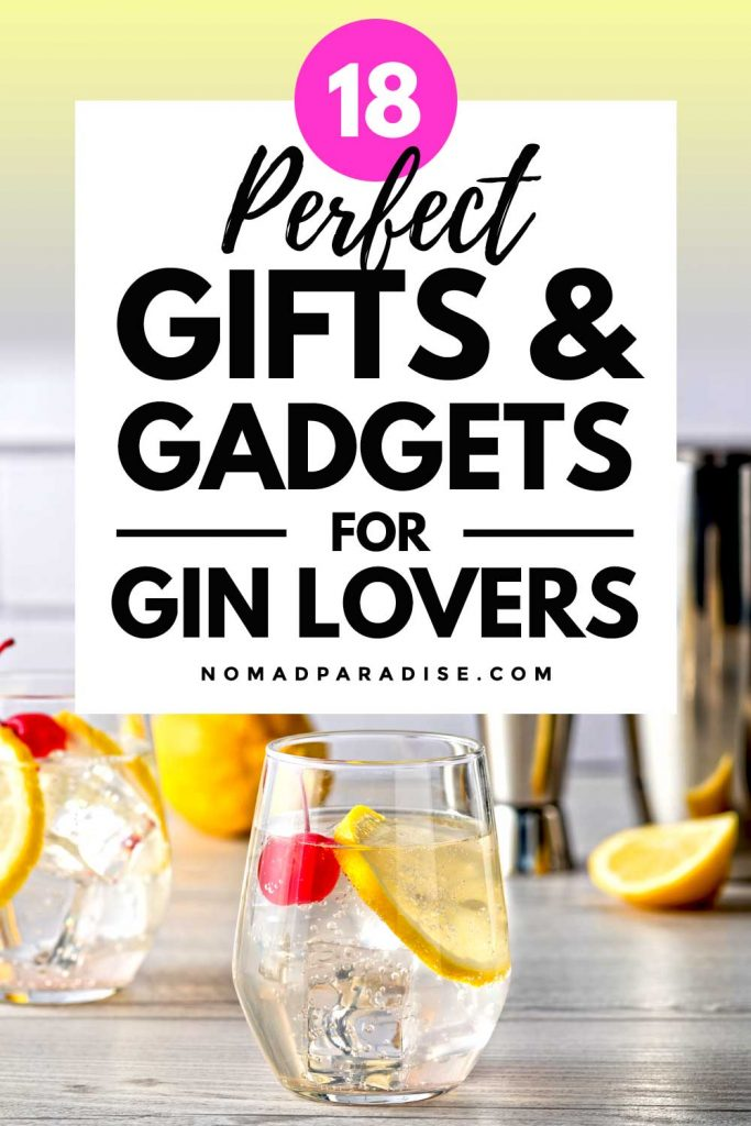 18 Perfect Gifts & Gadgets for Gin Lovers