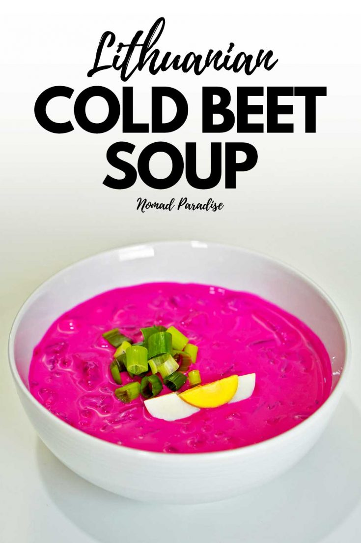 Cold Beet Soup Recipe