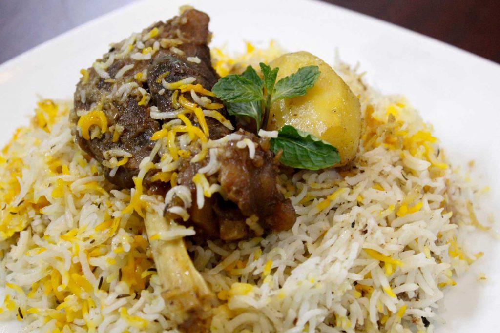 Bangladeshi Food: Kacchi Biriyani (Mutton Biriyani)