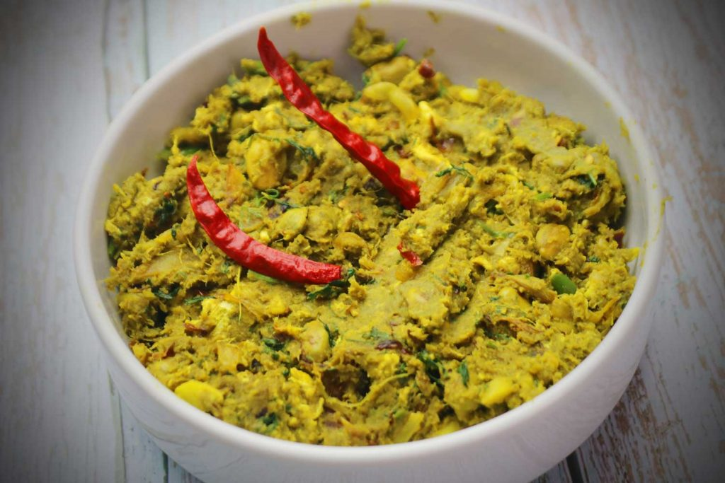Bangladeshi Food: Bhorta (Mashed Vegetables with Spices)