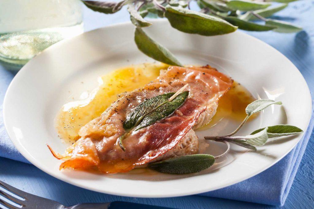Italian Food: Saltimbocca alla Romana