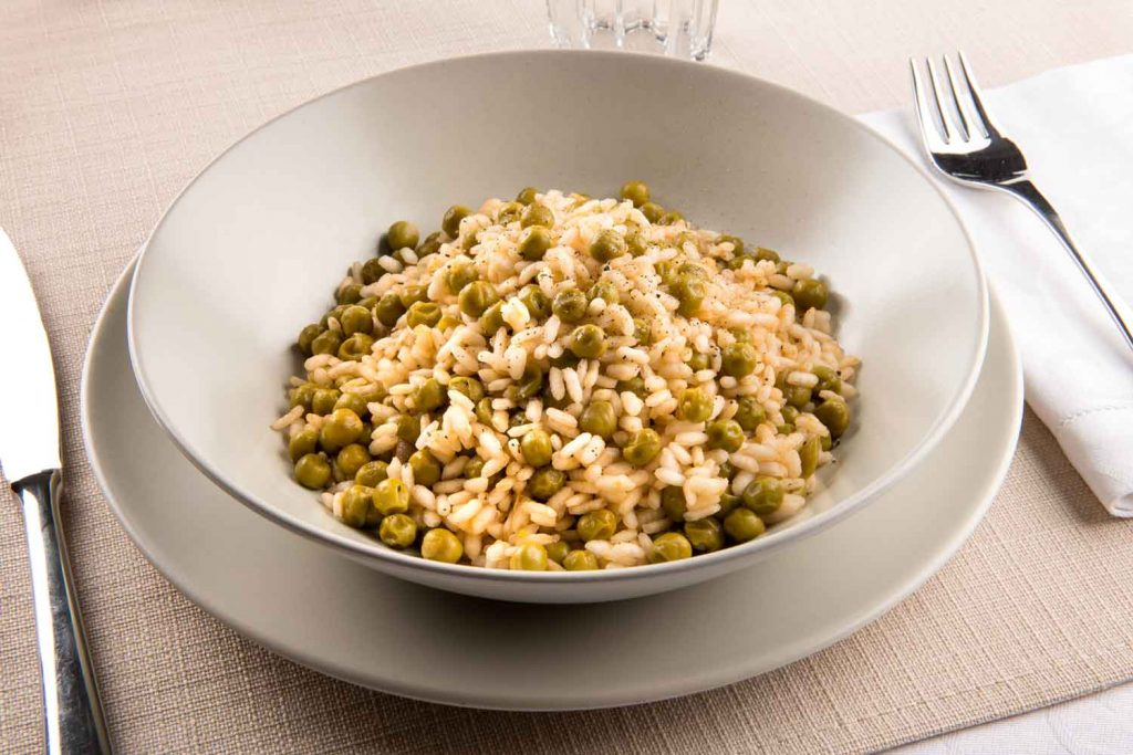 Italian food: Risi e Bisi