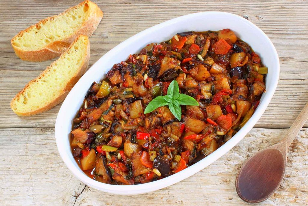Italian / Sicilian food: Caponata