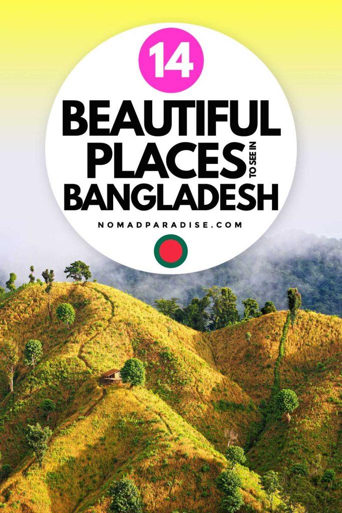 14 Beautiful Places in Bangladesh