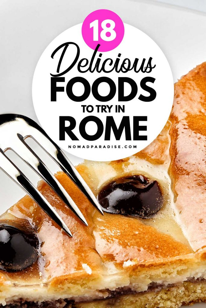 18 Delicious Foods to Try in Rome