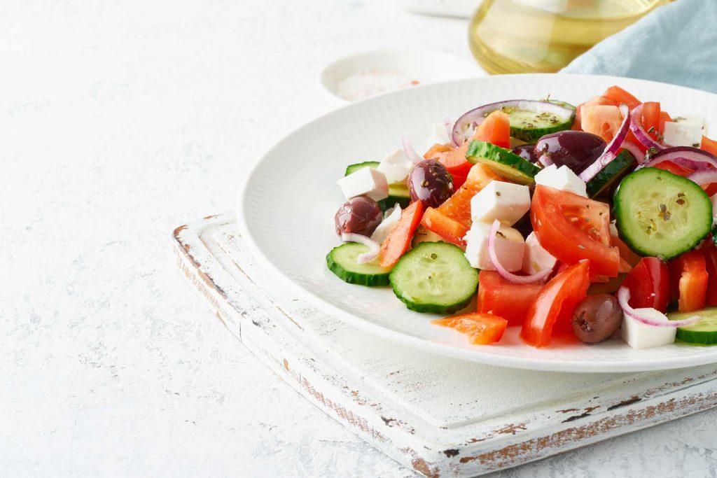 Greek Food: Greek Salad