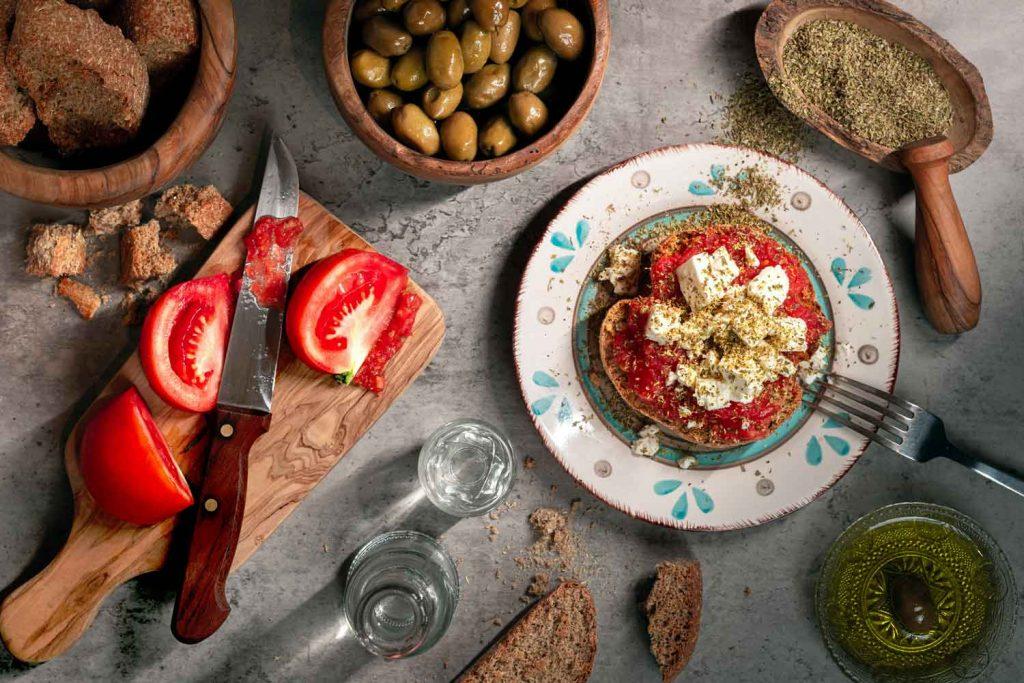 Greek Food: Dakos