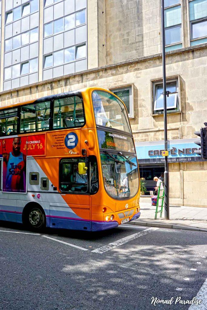bus route bristol
