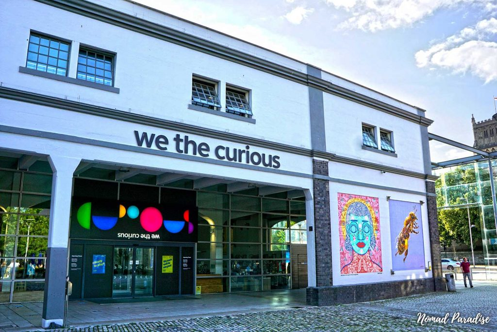 we the curious bristol