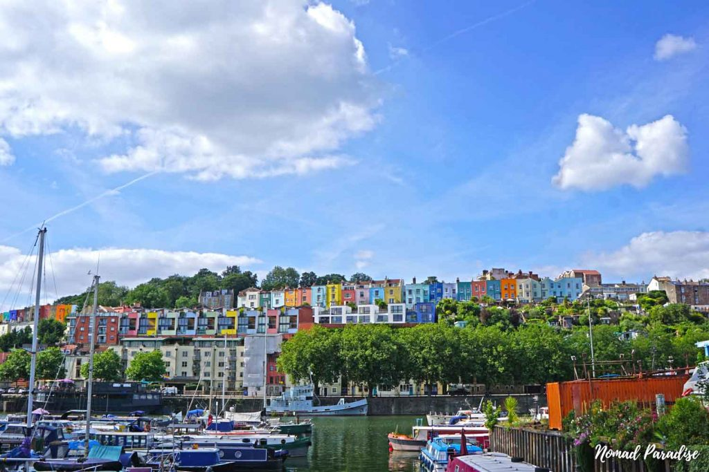 Colourful Houses of Clifton bristol