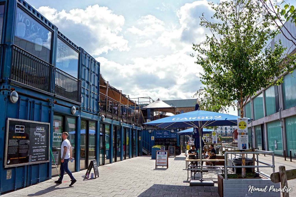 Cargo Centre, Wapping Wharf