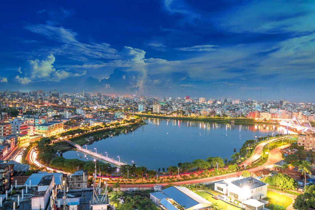 Dhaka City Skyline