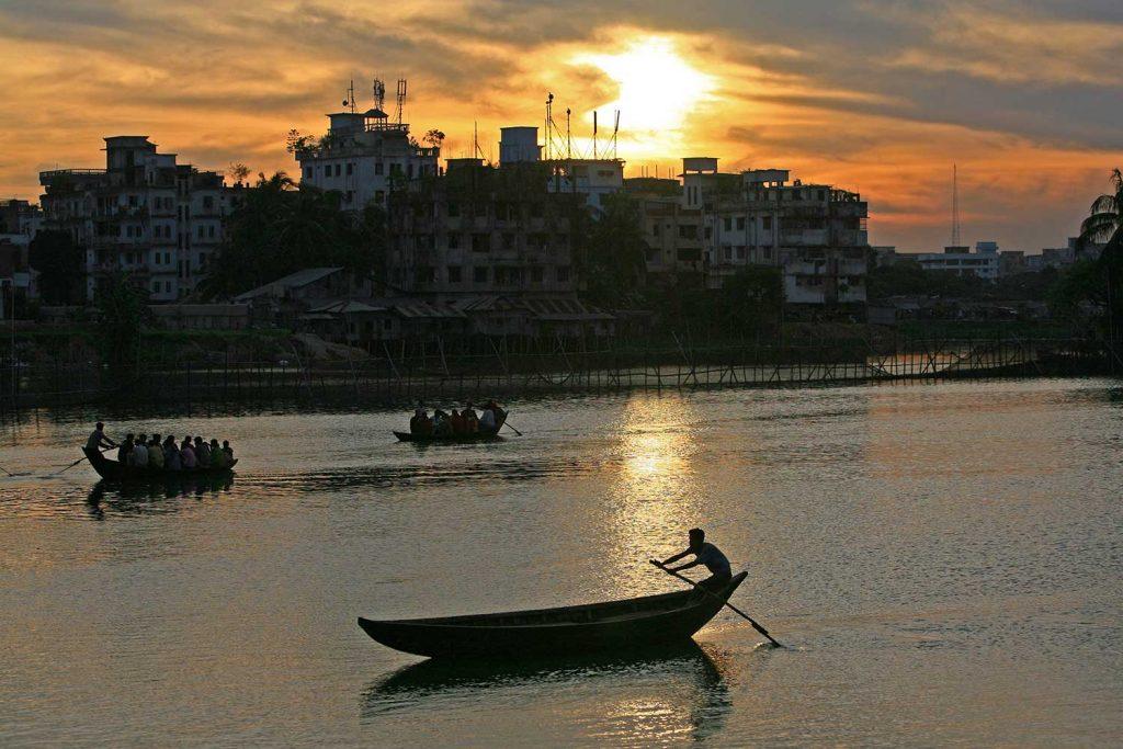 Sadarghat boat ride
