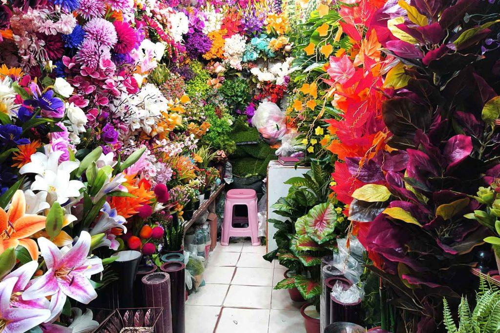 Artificial Flower Shop, New Market