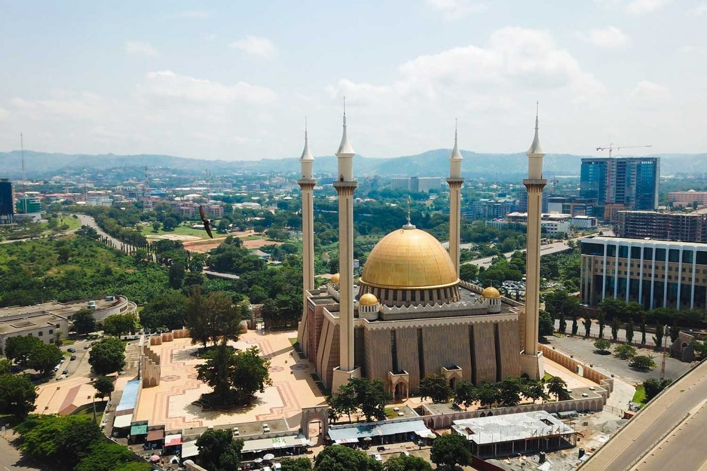 Aerial view of Abuja