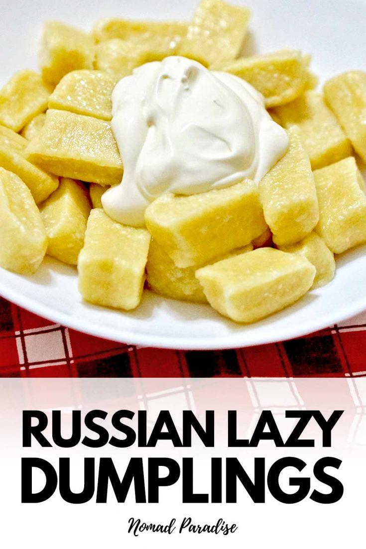 Russian & Eastern European Lazy Dumplings Recipe