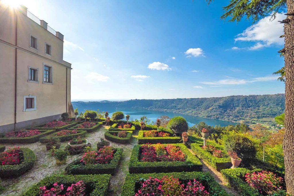 Gardens of Castello Ruspoli Nemi