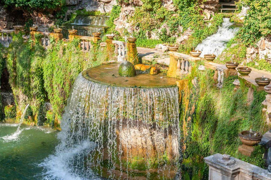 Fontana del Ovato Villa d'Este