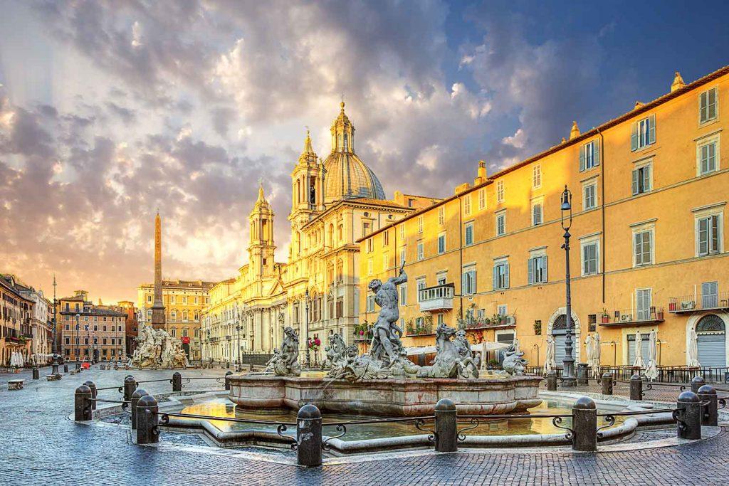 Piazza Navona Tridente