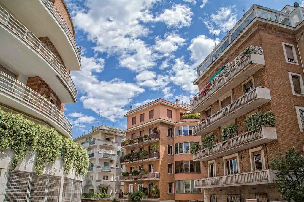 residential area of Parioli rome