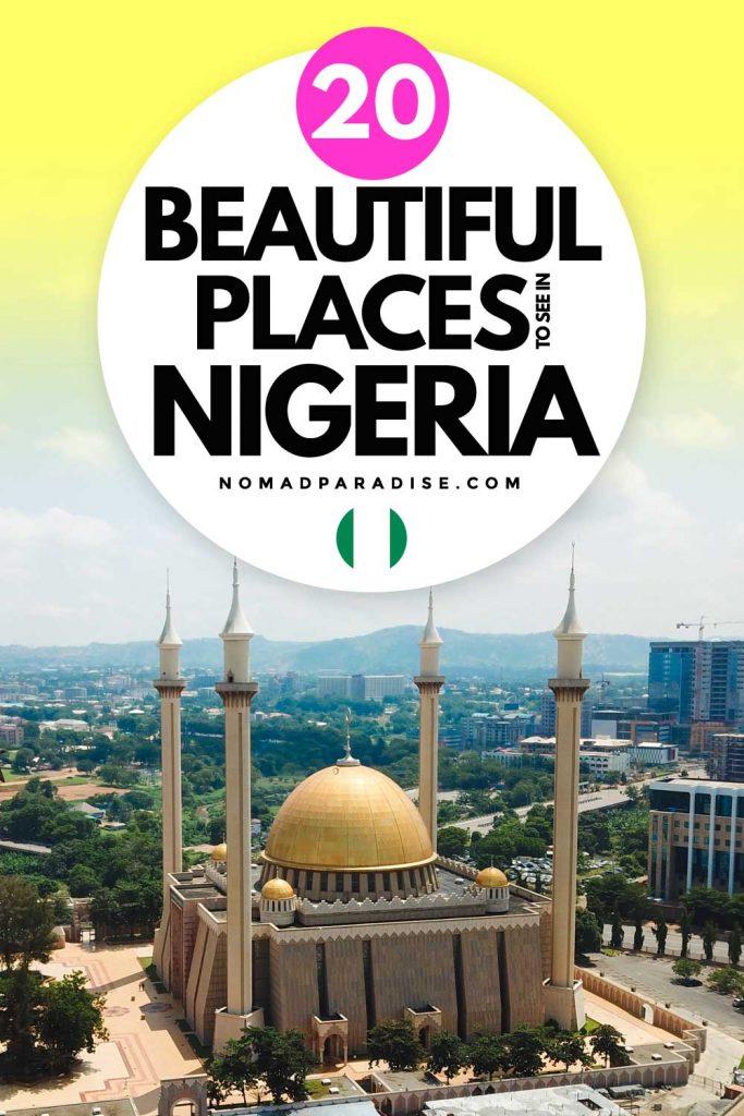 beautiful places to visit nigeria