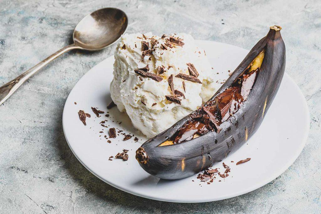 Grilled Banana Sweden