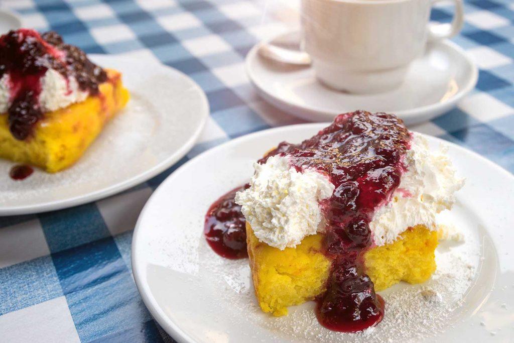 Saffranspannkaka Saffron Pancake