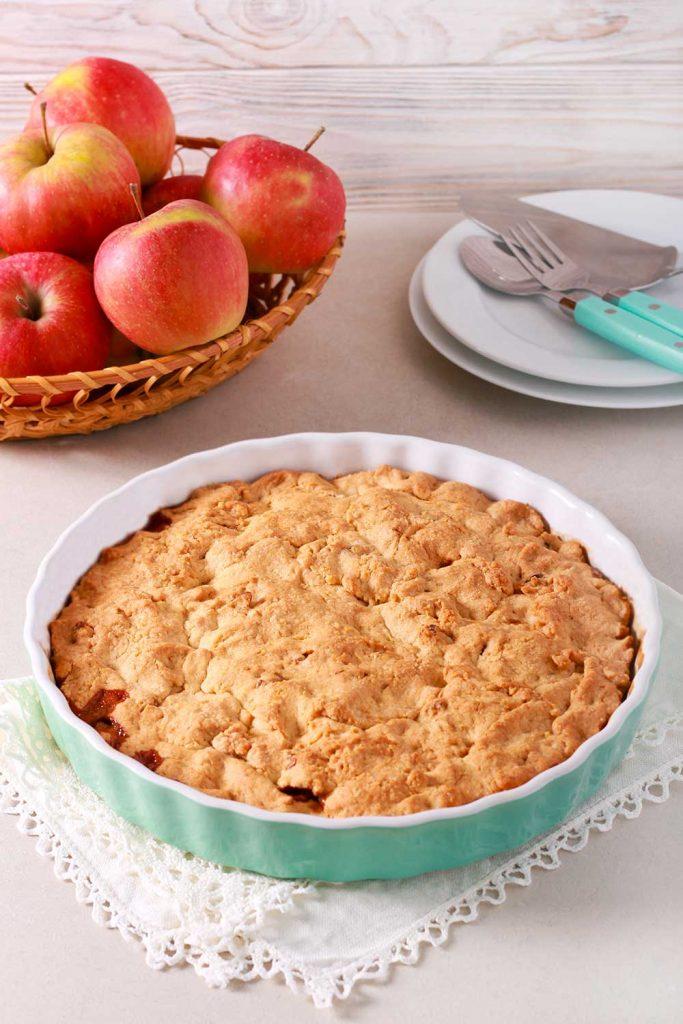 Smulpaj Crumble Pie