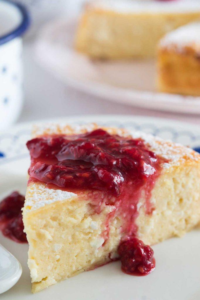 Ostkaka Cheesecake