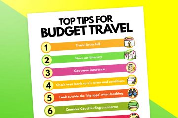 21 Practical Tips for Traveling on a Budget