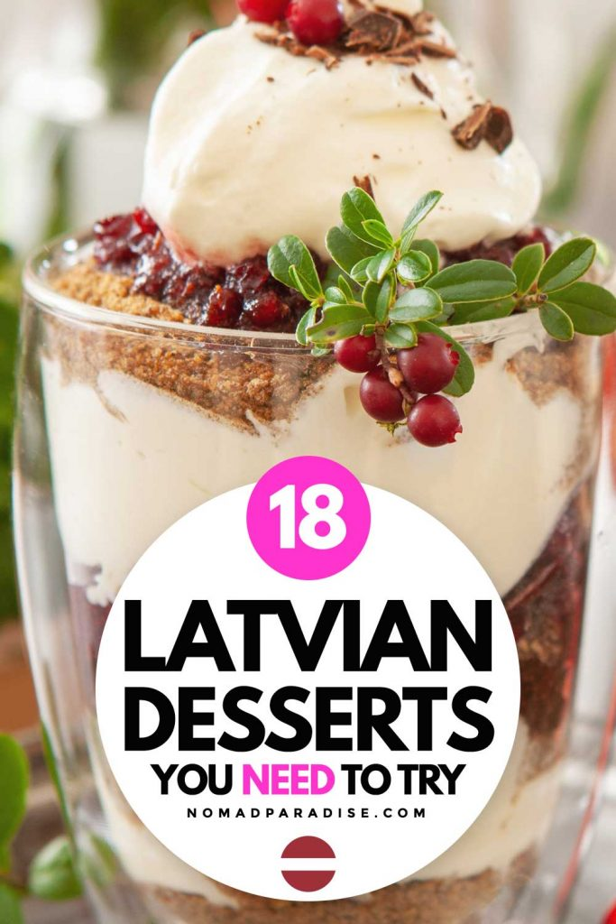 18 Latvian desserts you need to try (pin)
