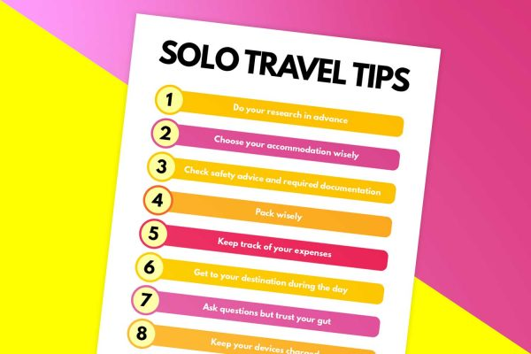 solo travel tips you need to know